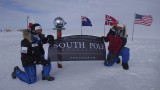 Pat and me at the symbolic South Pole