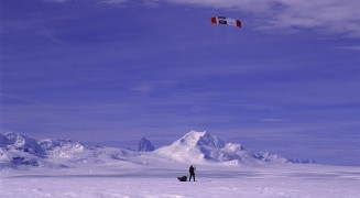 Queen Maud Land Solo Kite Ski